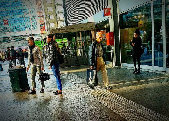 Public Transportation People Walking  Eyeem Photography Eyeem Photo Color Eyeem Best Shots Eyeem Gallery Creative Light And Shadow Color Photography Public Transportation people