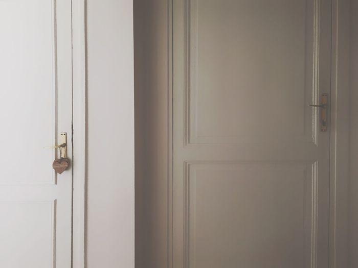 Close-up of door at home