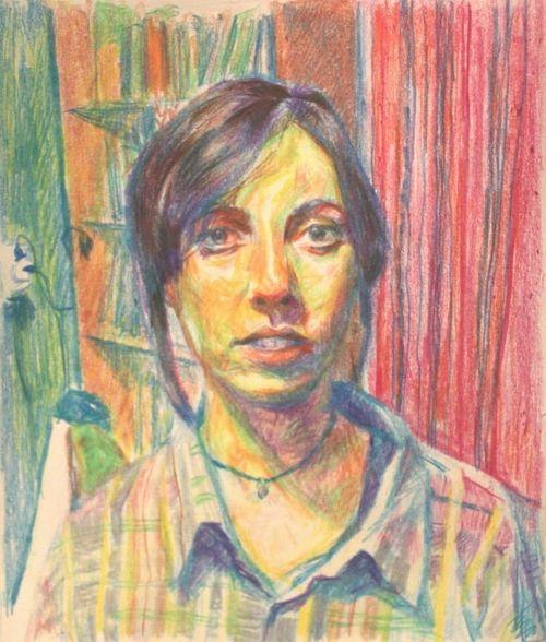 Linda Ahani Farsam Sangini Painting Iranian Artist Painter Paint Portrait Art Exhibition