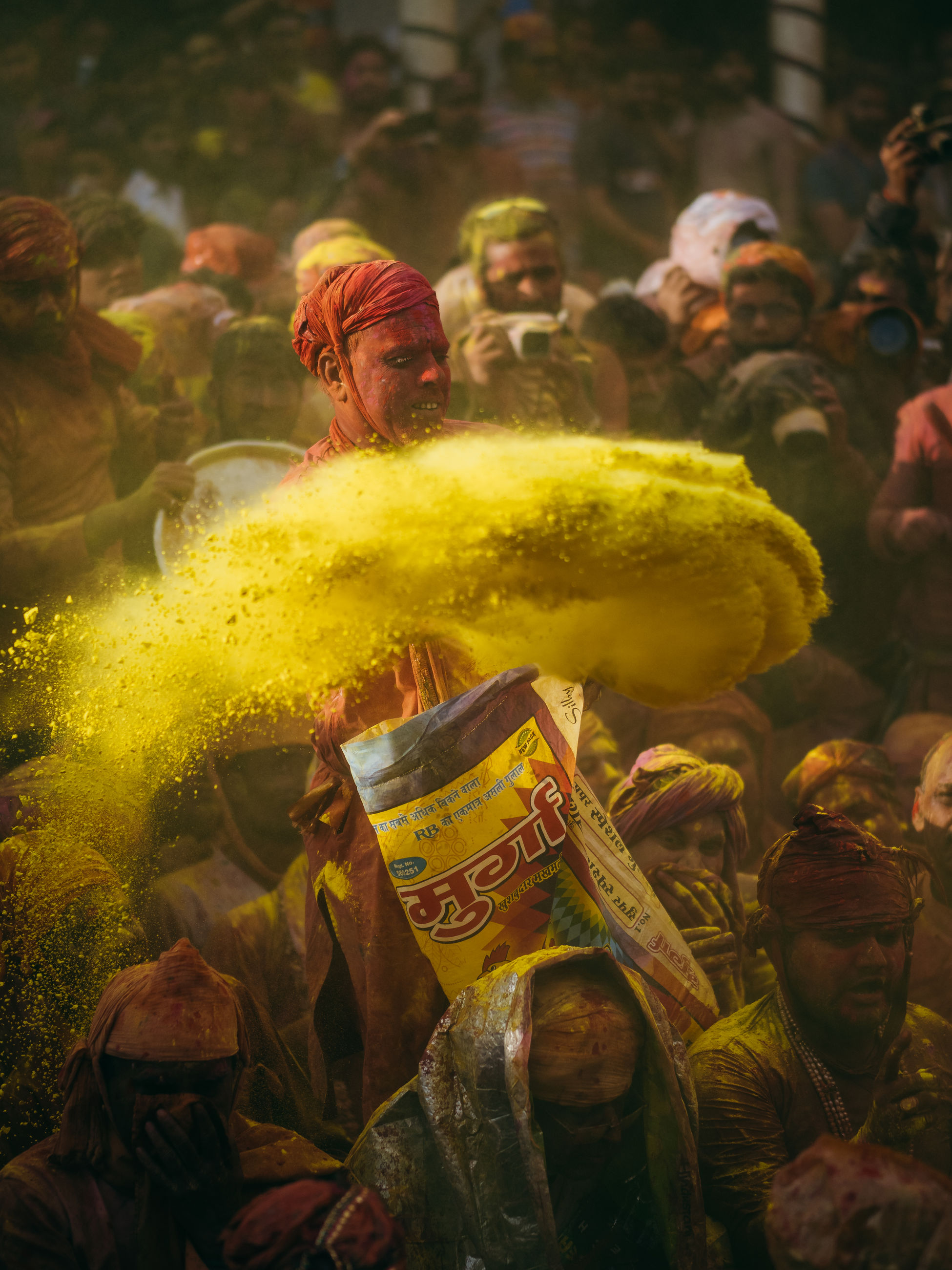group of people, real people, celebration, men, people, traditional festival, holi, day, lifestyles, belief, group, event, adult, festival, religion, medium group of people, outdoors