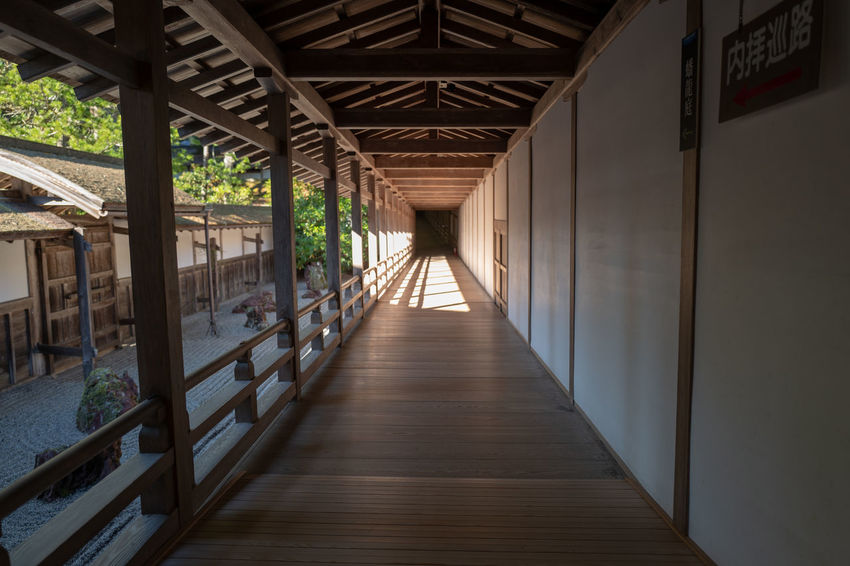 Japan Architecture Buddhist Temple Direction The Way Forward Buddhism Koyasan Corridor Japanese Architecture