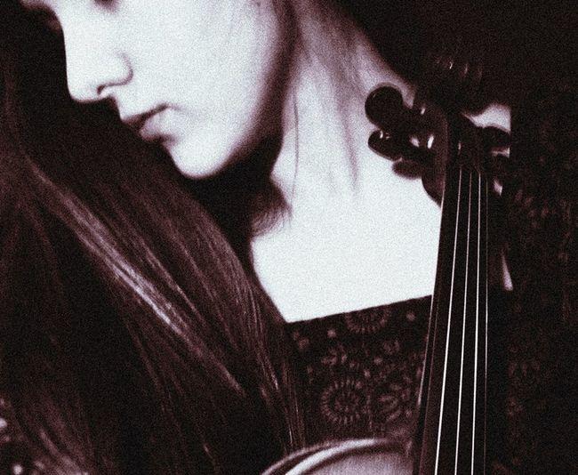 Eski fotoğraflarımdan yine That's Me Classicalmusic Violin Oldphoto Neck
