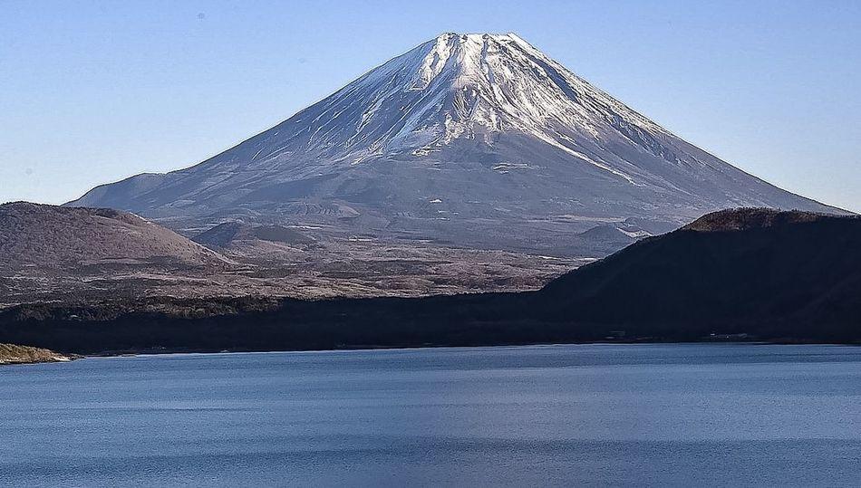 Landscape Mtfuji Motosulake Japan Yamanashi