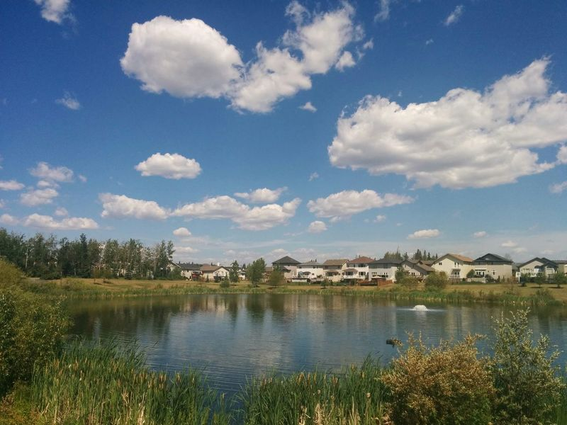 First Eyeem Photo Nature Water Fortmcmurray Lake Lake View Day Sky cloud