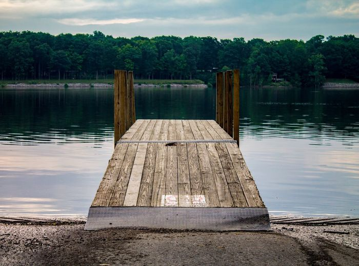 Pier At Lake