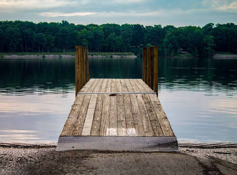 Dawn at the Docks Boating Boat Dock Dock Dawn Westerville 614 Ohio Columbus, Ohio Reservoir Water Wood - Material Lake Tree Pier No People Outdoors Architecture Tranquility Nature