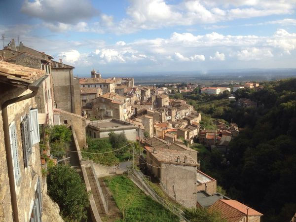 Outdoors Caprarola Viterbo Lazio,Italy Sky Scenics Cielo Clouds