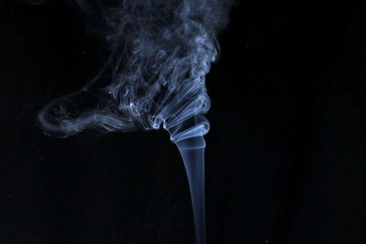 Close-Up Of Smoke