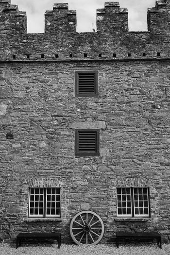 Historical Place Historical Building Old Architecture Black And White Black & White Blackandwhite