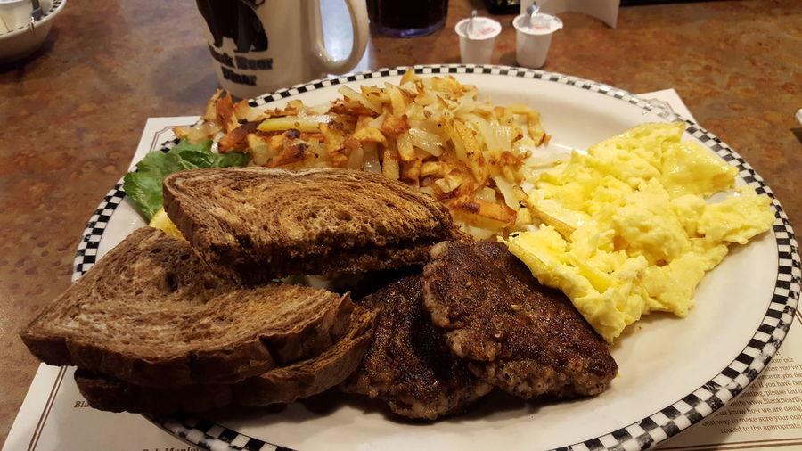 ShareTheMealBlack Bear dinner Food And Drink Meal First Eyeem Photo