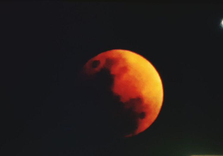 Super Blue Blood Moon Space Black Background No People Healthy Eating Astronomy Science Nature First Eyeem Photo