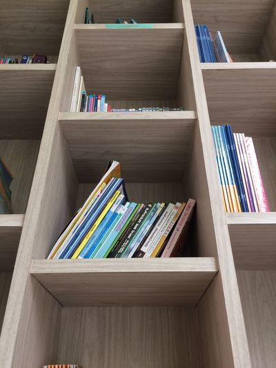 Wooden Study Student Learning Education Interior Free Space For Text Free Space Copy Space Low Angle View Library EyeEm Thailand Eyeem Market Bookshelf Book Shelf Indoors  Wood - Material Day No People