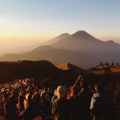 Great people, great celebration Indonesia's independent day. Mountain Prau Mdpl Sunrise Dieng Travel Hiking Trekking INDONESIA Hike Trip Paradise Leisure Adventure Highland Home Gunung Puncak