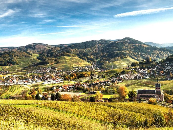 Mountains Outdoors Landscape Hiking Beauty In Nature Nature Mountain Range Autumn Autumn Colors Schwarzwald Kappelrodeck