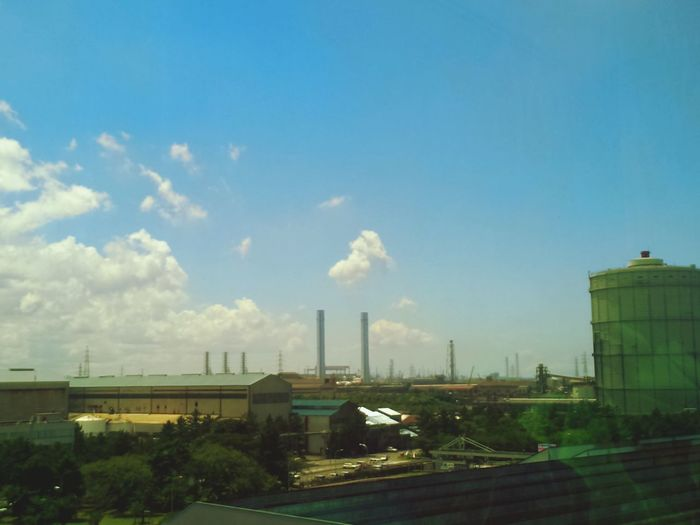 Summer Views Clouds And Sky Factory Zone Factory Photo