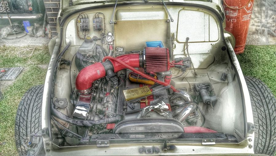 Morris Minor 1000 + a little Power Customized HDR Collection