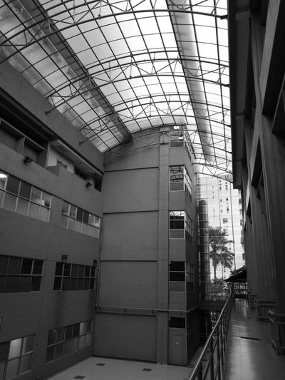 Hospital Blackandwhite No People Quiet Moments Architecture Built Structure Building Building Interior