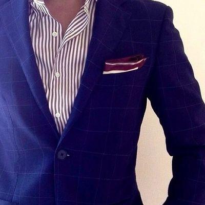 Fashion Men Suit everyday attire.