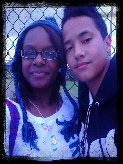 With My Bestie On Valentines Day