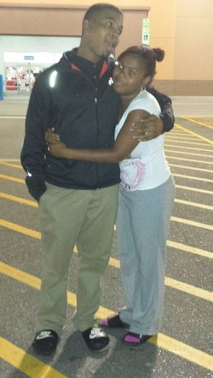 Me and lil shortybynature lol (my best friend)