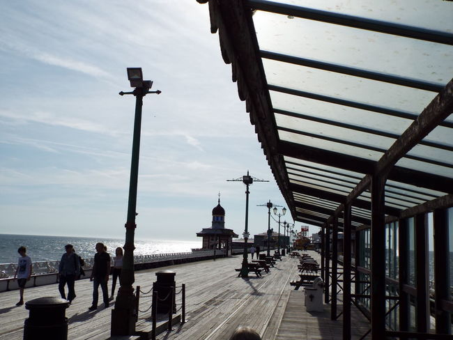 The Street Photographer - 2016 EyeEm Awards Pier North Pier The Essence Of Summer Summertime Summer 2016 Tourist Attraction  Tourists Railing Silouette & Sky Silhouette Tourism Blackpool North Pier People Around You People People Walking  Lamp Posts People Of The Oceans People And Places