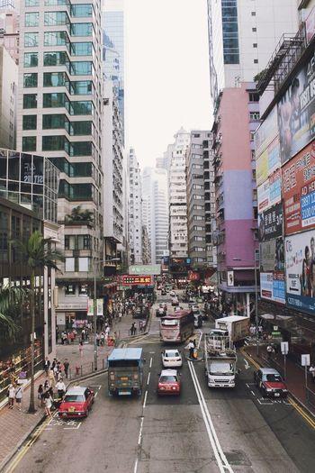 Hong Kong Busy Street City Streets  Street