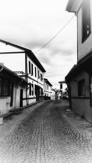 Blackandwhite EyeEm Best Shots Old City Old House Day City Awning Sky Architecture Building Exterior Built Structure TOWNSCAPE Residential Structure City Gate Town Housing Settlement Place Rooftop Human Settlement