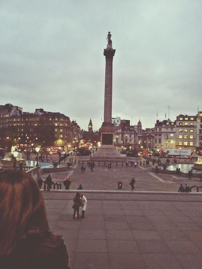 Trafalgar square. LONDON❤ City Monuments Architecture