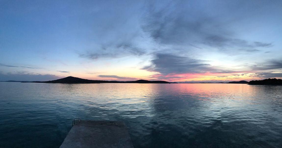 Sunset on Pašman