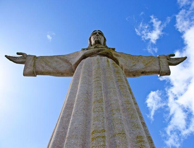 Statue Sculpture Religion Cristo Rei (Portugal) Lissabon,