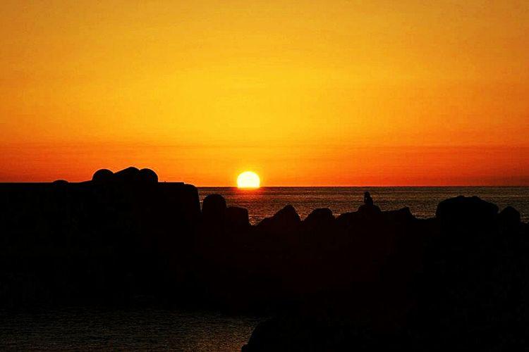 Ginostra sunset