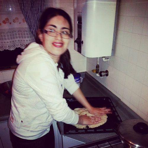 Mi Cuñada Haciendo Pizza en LomasColoradas SanPedroDeLaPaz BioBio Concepcion