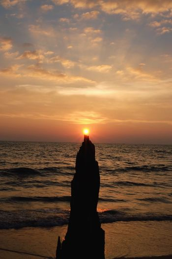 Wizardy Tower Tower Wizard Wizard Tower Day Outdoors Tranquil Scene No People Sun Silhouette Tranquility Orange Color Beach Cloud - Sky Horizon Over Water Scenics Nature Beauty In Nature Water Sky Sea Sunset