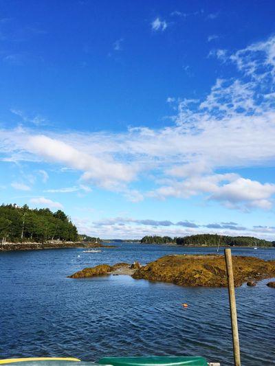 Maine Ocean Lake Dock