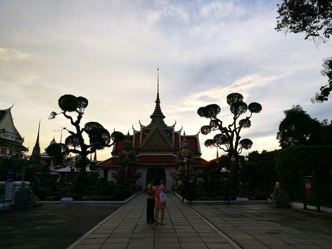 Built Structure Tree Travel Destinations Architecture Watarunbangkok Outdoors