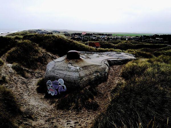 Beach Day Outdoors Sand No People Bunker Bay Bunker Ww2 Bunker Ww2 Lost In The Landscape