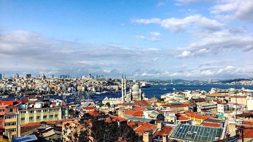 İs-tan-bul ❤️✋🏻 Photography EyeEm Colors ıstanbul Seaandsky Istanbul Turkey Summer Blue Musque Muslim Picture
