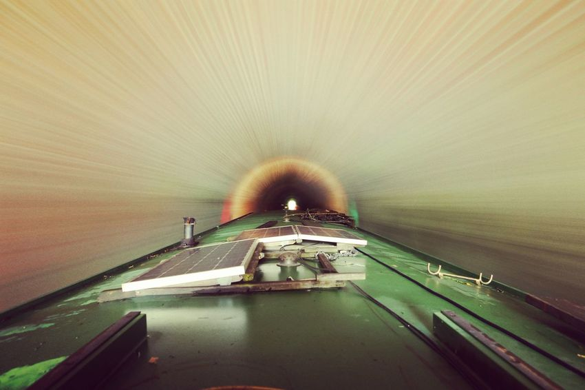 Tunnel Water EyeEmNewHere No People Day Outdoors Futuristic Canal Canals And Waterways Tunnel Vision Tunnel View Tunnel Of Light Boat