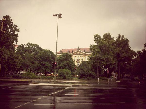 Rainy Bits Of West Berlin