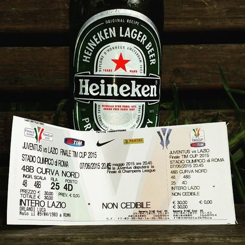 Timcup Curvanord SsLazio Finale Heineken Beer Soccer Lazio Juvelazio Instasoccer Instamood Noilamiamo Noilamiamoeperleicombattiamo