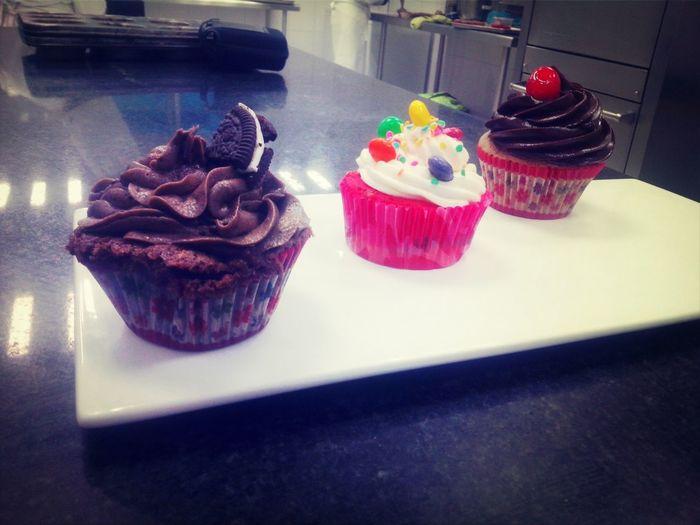 Repostería Cupcakes Rainbow Cupcakes Oreo Cupcakes