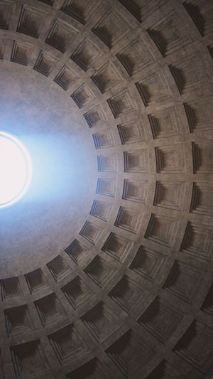 Pantheon, Rome. This is one of the most amazing structures ever built. Here, the oculus (or eye) was believed by the Romans to be a direct connection with the gods. Unedited. Roman Empire Italy Taking Photos EyeEm Masterclass EyeEm Eyeem Market EyeEmBestPics EyeEm Gallery Eyemphotography EyeEm Best Shots Explore Amazing History Travelphotography Urban Beauty Urban Exploration Urbanphotography Urban Geometry Choatephotos Choatgrapy Iphonephotography Mobilephotography Natural Light Unedited IPhoneography Travel Pantheon Rome Italy Visual Creativity Focus On The Story EyeEmNewHere EyeEmNewHere