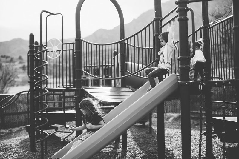 Railing Real People Full Length Playground Metal Casual Clothing Steps And Staircases Men Outdoors Day Childhood Built Structure Lifestyles Sky Architecture One Person Mammal People