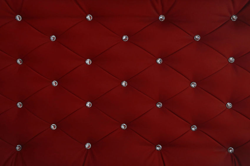 Button Chesterfield Leather Modern Old-fashioned Backgrounds Capitone Close-up Design Detail Diamond Full Frame Indoors  Luxury No People Pattern Red Repetition Rhombus Seamless Seamless Background Seamless Pattern Textured