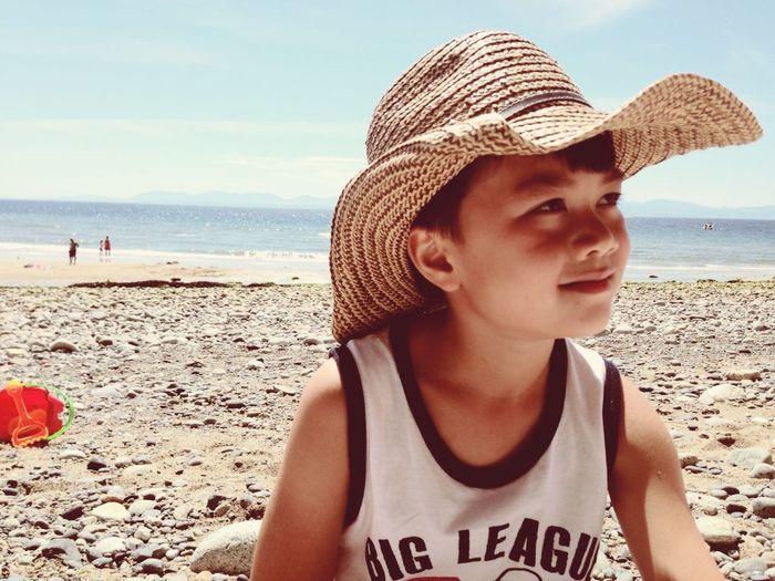 Beach bum ❤️