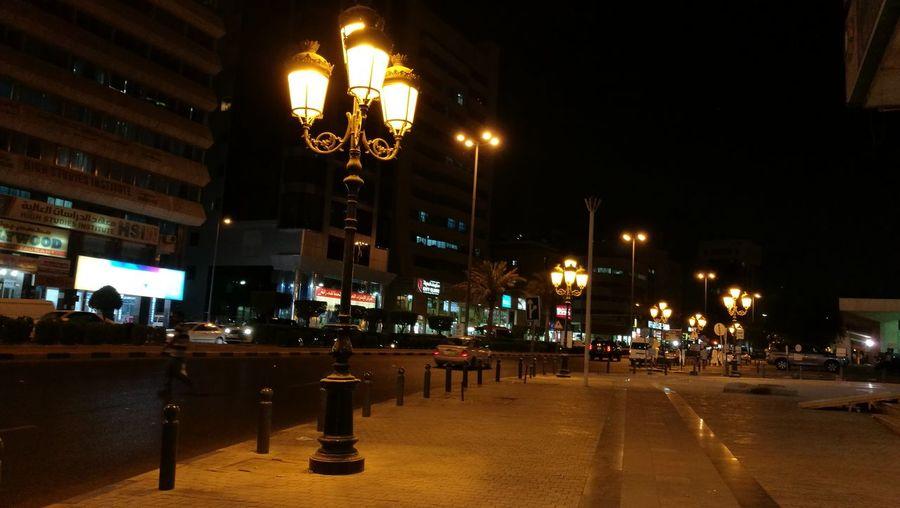 Overnight Success Illuminated Street Light City Life Night Road Street Outdoors Street Light City Street Electric Light