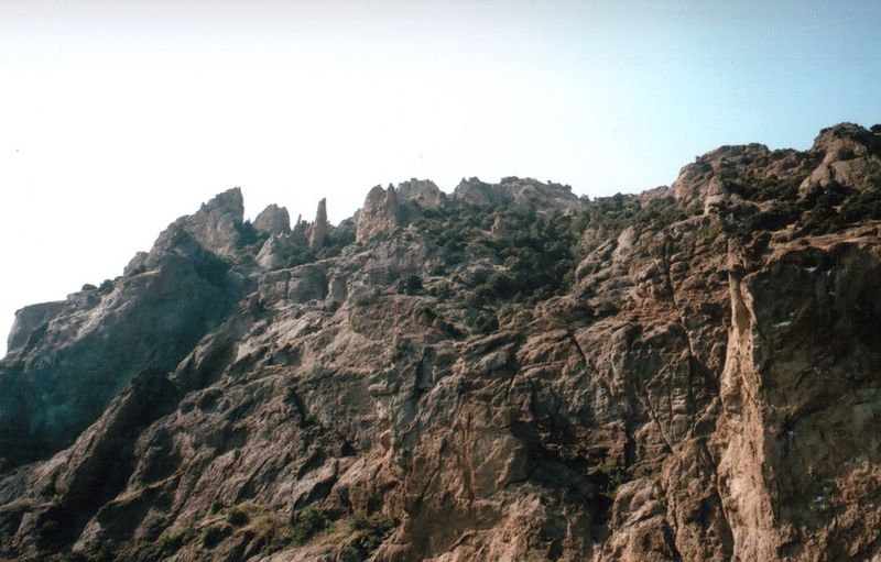 35mm 35mm Film Beauty In Nature Film Film Photography Idyllic Landscape Mju2 Mjuii Mountain Nature No People Olympus Outdoors Rock Rock Formation Rocky Mountains Summer Unusual Wilderness