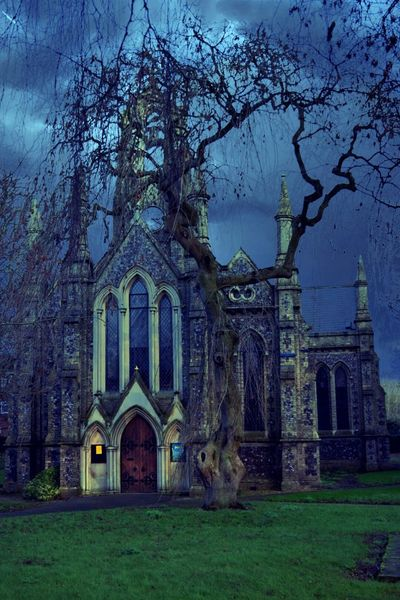 Spooky Church Graveyard.. With Spooky Trees Check This Out Feeling Creative Nikon D3300 Norwich My Edit EyeEm Best Shots - Trees Nikonphotographer