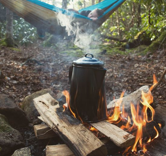 The Secret Spaces Flame Burning Smoke - Physical Structure Heat - Temperature Wood - Material Outdoors Day Close-up Bonfire Camping Stove The Great Outdoors - 2017 EyeEm Awards Analogue Sound