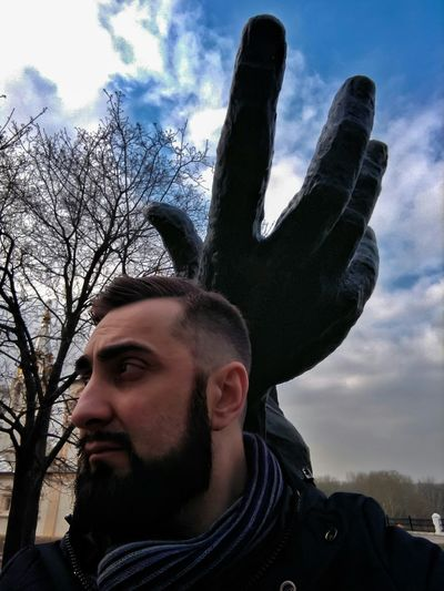 Sergey&Esenin Only Men One Man Only Adults Only Beard Sky Headshot Young Adult Poet Natureofrussia Monument In The Park Ryazan Ryazan Kremlin Tree Sergey BeardMan ♡♡ Manportrait